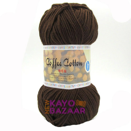 Coffee cotton 22 brown