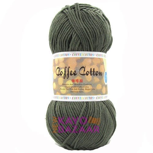 Coffee cotton 25 reeds
