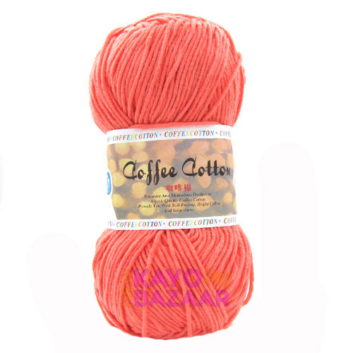 Coffee cotton 29 coral