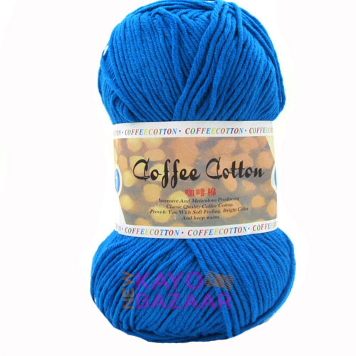 Coffee cotton 30 turquoise