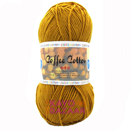 Coffee cotton 34 goldy
