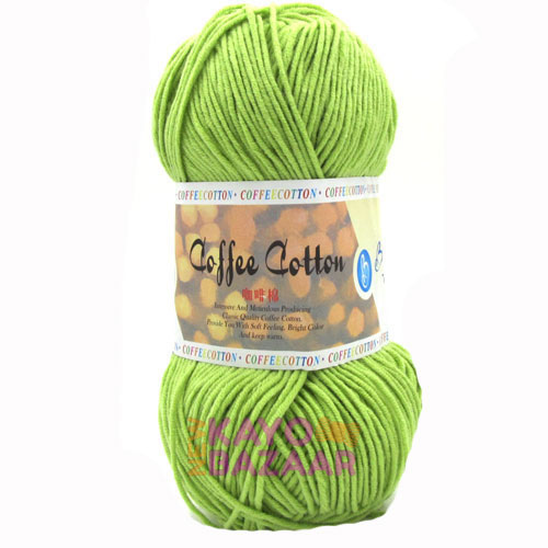 Coffee cotton 34 lime